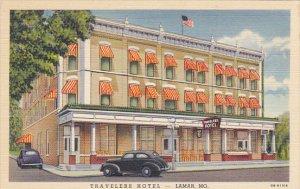Travelers Hotel Lamar Missouri Curteich