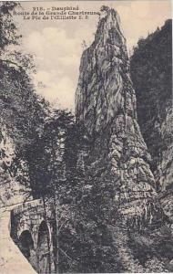 france Dauphine Route de la Grande-Chartreuse Le Pic de l'Eillette