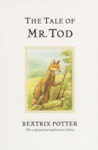The Tale Of Mr Tod Beatrix Potter Book Postcard