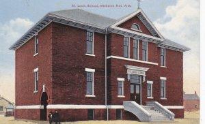 MEDICINE HAT, Alberta, Canada, 1900-1910's; St. Louis School