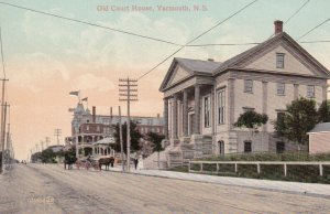 YARMOUTH , Nova Scotia , Canada , 00-10s ; Old Court House