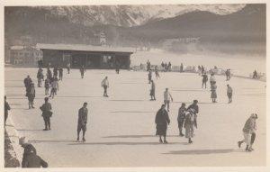 RP: Ice Skating , St Moritz,  1928