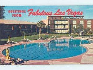 Pre-1980 DESERT INN CASINO HOTEL SWIMMING POOL Las Vegas Nevada NV AE1300