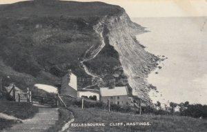 HASTINGS, Sussex, England, 1900-1910's; Ecclesbourne Cliff