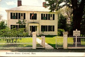 Massachusetts Concord The Emerson House 1975