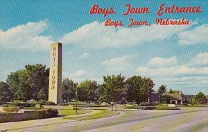 Boys Town Entrance Boys Town Nebraska
