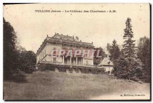 Old Postcard Tullins Le Chateau des Chartreux