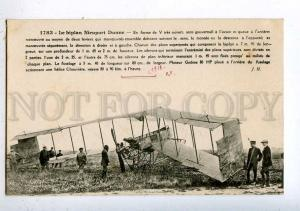 205368 FRANCE AVIATION airplane Nieuport Hauser #1783 old