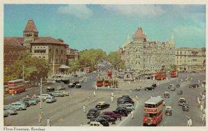 BOMBAY, India, 1940-60s; Flora Fountain