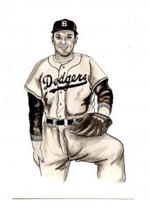 Carl Erskine, Brooklyn Dodgers
