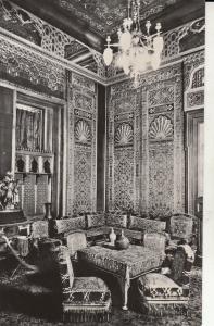 Romania Sinaia Peles castle interior turkish salon