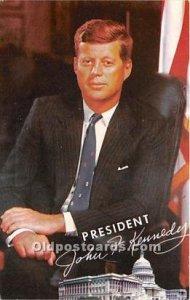 President John F Kennedy Unused