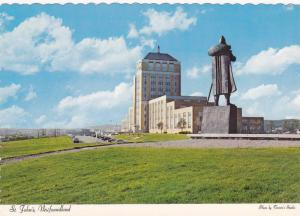 St. John's: Showing Confederation Building And The Statue Of The Portuguese E...