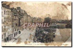 Postcard Old Honfleur Quai Sainte Catherine