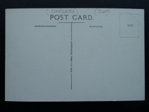 Scotland Dunbarton BALLOCH Boat Houses & Balloch Bridge - Old RP Postcard
