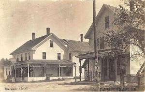 Passadumkeag ME Store and Riverside Hotel Real Photo RPPC Postcard