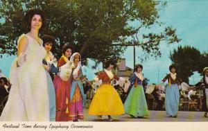 Florida Tarpon Springs Festival Time During Epiphany Ceremonies