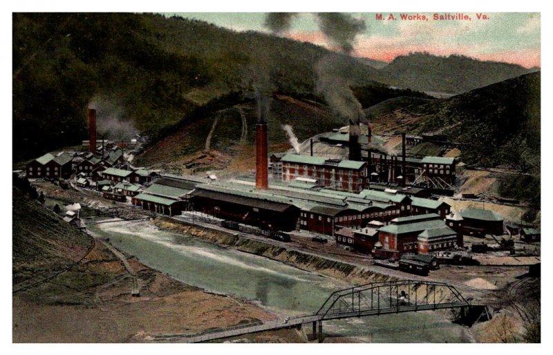 Virginia Saltville   M.A. Works