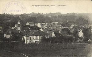 Champigny sur Marne-Le Panorama CPA Saintry - L'Arcadie (180090)