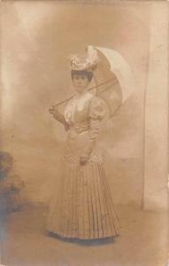 Fashion Dress, Fancy Hat, Umbrella