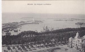 MALAGA , Spain , 00-10s ; El Parque y la Farola
