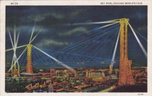 The Sky Ride Chicago World's Fair 1933 Curteich