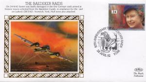The Baedeker Raids Lubeck WW2 Benham Military First Day Cover
