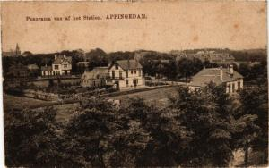 CPA APPINGEDAM Panorama van af het Station NETHERLANDS (706081)