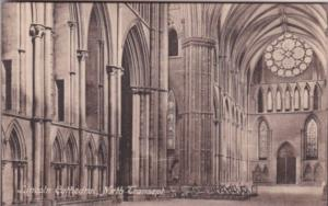 England Lincoln Cathedral North Transept