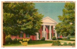 Tennessee  Pittsburg Landing Administration Bldg. Shiloh National Military Park