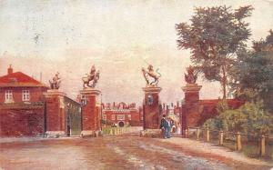 The Trophy or Unicorn Gates, Hampton Court Palace