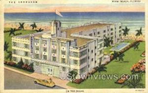The Shoreham Miami Beach FL Unused
