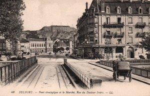 Pont Strategique et la Marche,Rue Du Docteur Frery,Belfort,France BIN