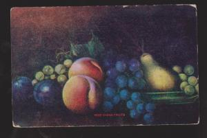 Painting Of Fruit - Used In Canada 1909 -  Corner & Edge Wear