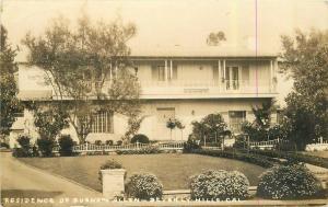 Beverly Hills Burns California  Allen 1930s Movie Vaudeville Comedy RPPC 5476
