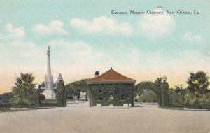 NEW ORLEANS , Louisiana , 1900-10s ; Entrance , Metairie Cemetery