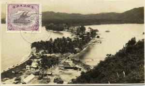 Papua New Guinea, Aerial View Real Photo (1930) Stamp