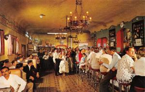 Nogales Sonora Mexico~Cavern Bar Interior~Spanish Dancers-Pretty Girl~1950s Pc
