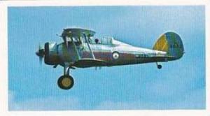 Doncella Vintage Cigarette Card Golden Age Of Flying No 15 Gloster Gladiator ...