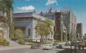 Art Gallery,  Sherbrooke Street looking East,  Montreal,  Quebec,  Canada,  4...