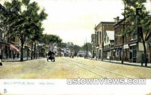 Main St. Greenfield MA 1911