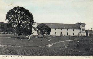 McMINNVILLE , Oregon , 1913 ; City Park
