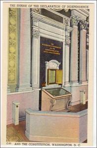 Shrine of the Declaration of Independence, Washington DC