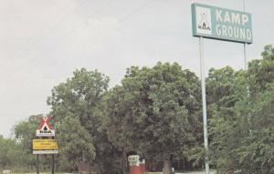 ABILENE, Texas, 40-60s; KOA Campgrounds