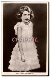 Old Postcard HRH Princess Elizabeth