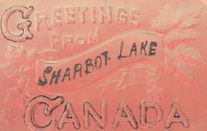 SHARBOT LAKE , Ontario , Canada , 1908 ; Embossed