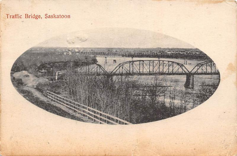 Canada Saskatoon, Traffic Bridge 1909