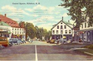 CENTRAL SQUARE HILLSBORO, NH 1955