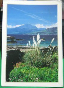 Scotland The Cuillin from Ord Sleat Isle of Skye - unposted