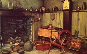 NY - Buffalo. Settler's Kitchen, Buffalo & Erie County Historical Society